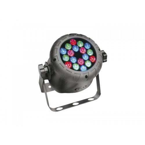 MINI PAR LED 15º (18 x 1w ) QUARKPRO