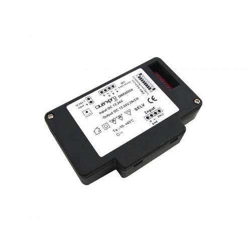 DMX-200 PARA LEDFLEXRGB 12V(72w)-24V(144w) 2A.x CANAL (85050)