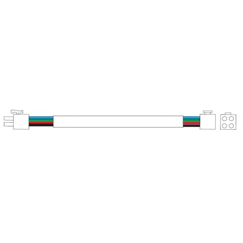 CABLE EXTENSION 4x0.5mm 1,5M TRIOLED