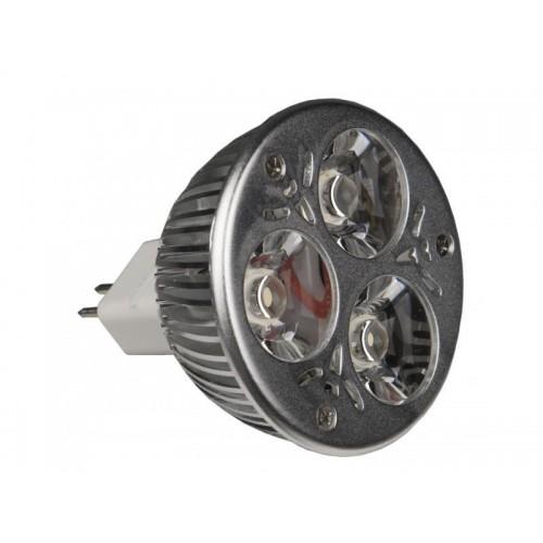 LAMPARA LED MR-16 3x1W WW-45º