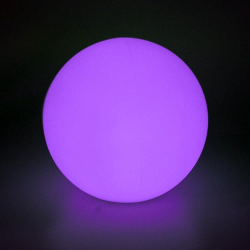 LED BALL RGB 20CM + MANDO + CARGADOR - LIGHTSIDE