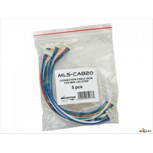 SET DE 5 PIEZAS CABLE CONEXION MLS-50/ MLS/20
