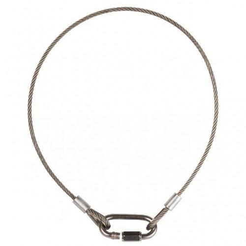 CABLE ACERO SEGURIDAD D4-60cm BRITEQ