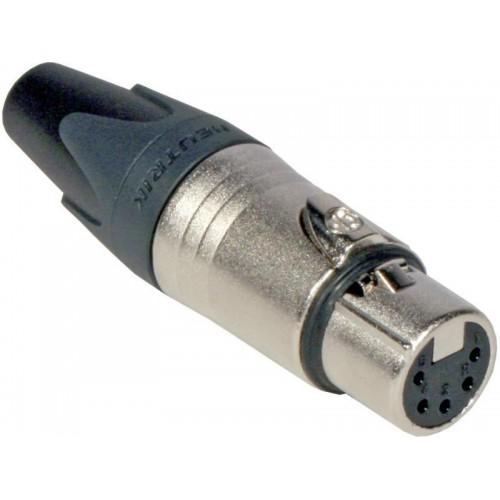 JB-201 NC-5-FX CONECTOR XLR 5 PIN HEMBRA